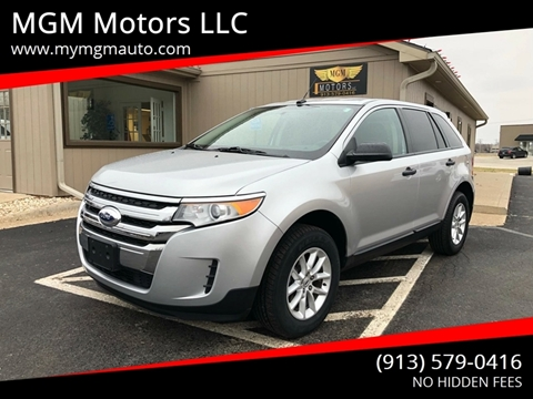 2013 Ford Edge for sale at MGM Motors LLC in De Soto KS