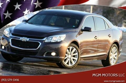 2015 Chevrolet Malibu for sale at MGM Motors LLC in De Soto KS