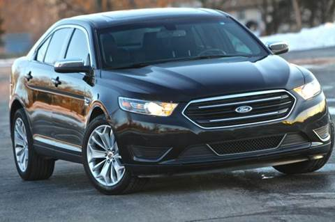 2015 Ford Taurus for sale at MGM Motors LLC in De Soto KS