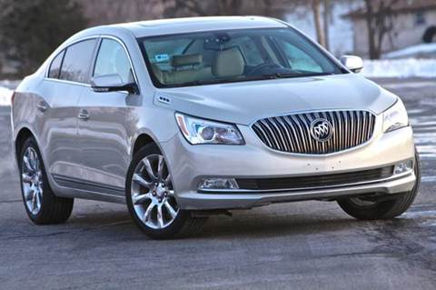2014 Buick LaCrosse for sale at MGM Motors LLC in De Soto KS