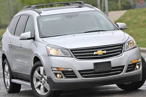 2014 Chevrolet Traverse for sale at MGM Motors LLC - Hail Sale in De Soto KS