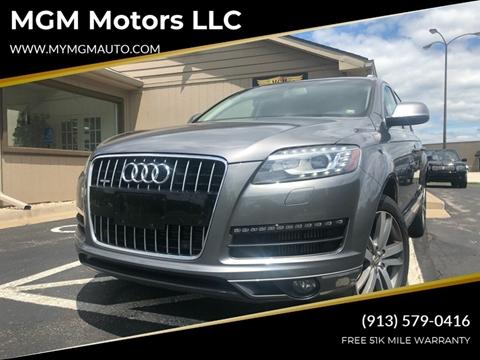 2012 Audi Q7 for sale at MGM Motors LLC in De Soto KS