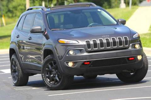 2016 Jeep Cherokee for sale at MGM Motors LLC in De Soto KS