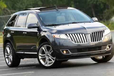 2013 Lincoln MKX for sale at MGM Motors LLC in De Soto KS