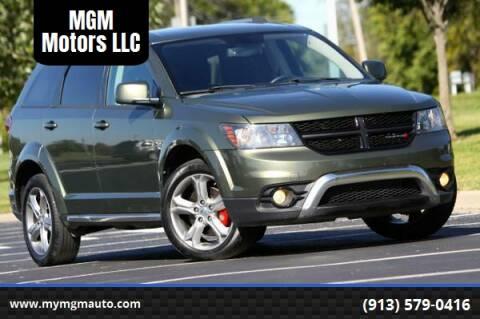 2017 Dodge Journey for sale at MGM Motors LLC in De Soto KS