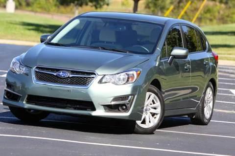 2016 Subaru Impreza for sale at MGM Motors LLC in De Soto KS