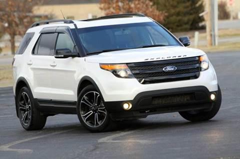 2015 Ford Explorer for sale at MGM Motors LLC in De Soto KS