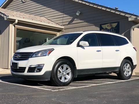 2013 Chevrolet Traverse for sale at MGM Motors LLC in De Soto KS