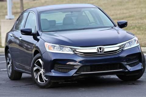 2017 Honda Accord for sale at MGM Motors LLC in De Soto KS