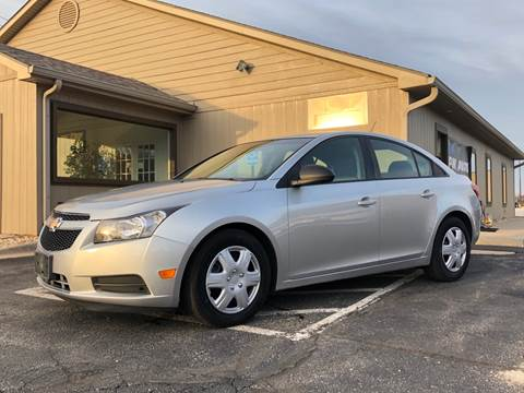 2014 Chevrolet Cruze for sale at MGM Motors LLC in De Soto KS