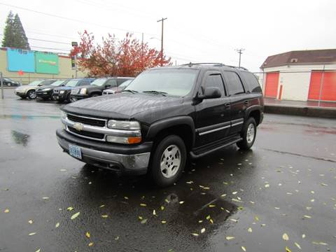 2006 Chevrolet Tahoe for sale in Portland, OR