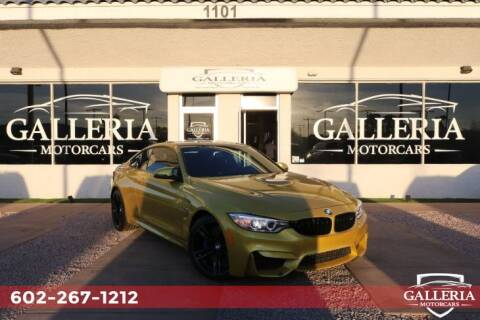 2015 BMW M4 for sale at Galleria Motorcars in Scottsdale AZ