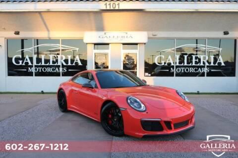 2017 Porsche 911 Carrera GTS for sale at Galleria Motorcars in Scottsdale AZ
