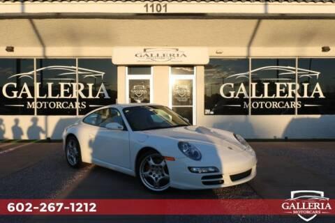 2008 Porsche 911 Carrera S for sale at Galleria Motorcars in Scottsdale AZ