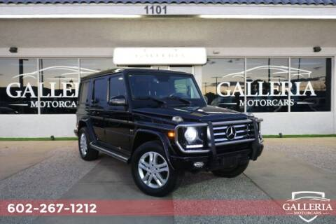 2015 Mercedes-Benz G-Class G 550 for sale at Galleria Motorcars in Scottsdale AZ