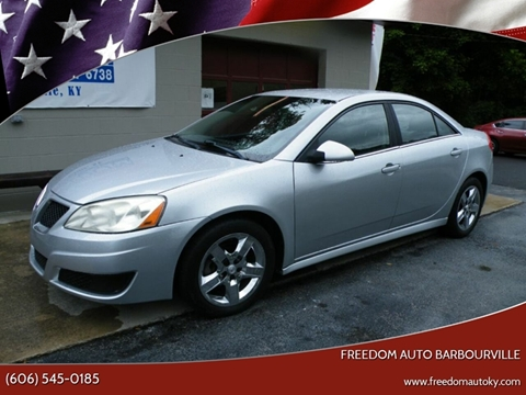2010 Pontiac G6 for sale in Bimble, KY
