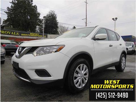2016 Nissan Rogue for sale in Everett, WA