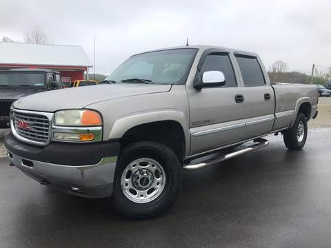 2002 GMC Sierra 2500HD for sale in Logan, OH
