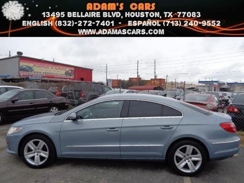 2012 Volkswagen CC for sale in Houston, TX