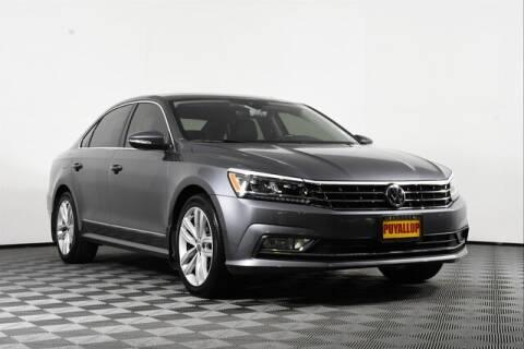 2018 Volkswagen Passat for sale at Washington Auto Credit in Puyallup WA