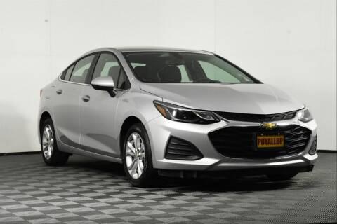 2019 Chevrolet Cruze for sale at Washington Auto Credit in Puyallup WA