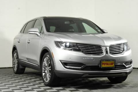 2016 Lincoln MKX for sale at Washington Auto Credit in Puyallup WA