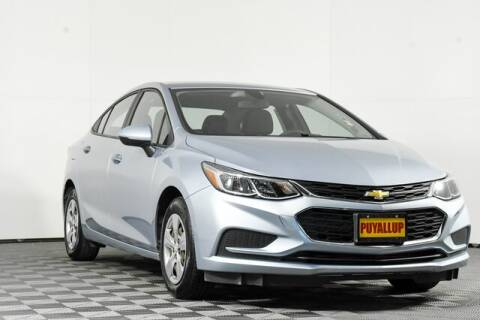 2017 Chevrolet Cruze for sale at Washington Auto Credit in Puyallup WA