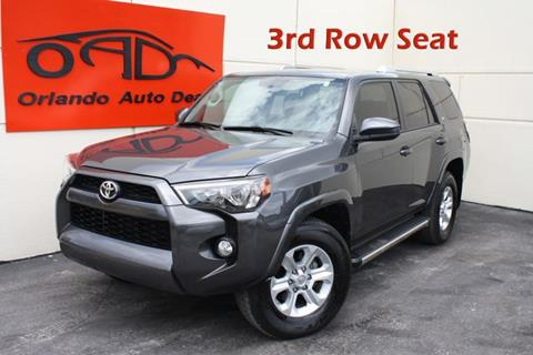 2017 Toyota 4Runner for sale in Orlando, FL