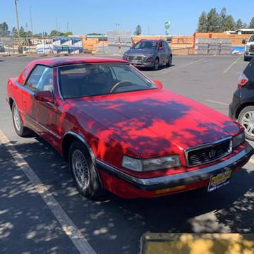 1989 Chrysler TC for sale in Easton, PA