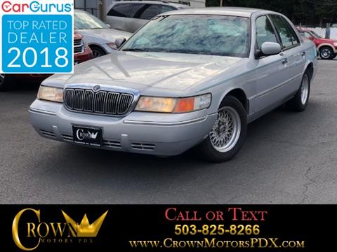 1999 Mercury Grand Marquis For Sale In Alaska Carsforsale Com
