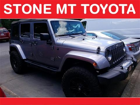 2014 Jeep Wrangler Unlimited for sale in Lilburn, GA