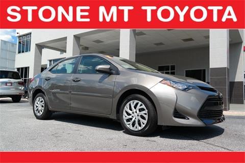 2017 Toyota Corolla for sale in Lilburn, GA