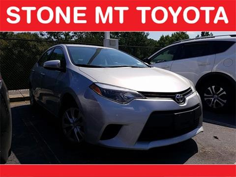 2014 Toyota Corolla for sale in Lilburn, GA