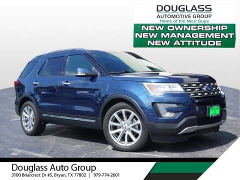 2017 Ford Explorer for sale at Douglass Automotive Group in Central Texas TX