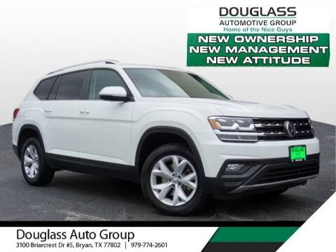 2019 Volkswagen Atlas for sale at Douglass Automotive Group in Central Texas TX