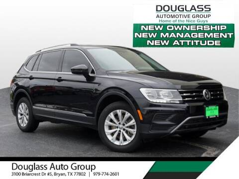 2018 Volkswagen Tiguan for sale at Douglass Automotive Group in Central Texas TX