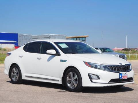 2014 Kia Optima Hybrid for sale at Douglass Automotive Group in Central Texas TX