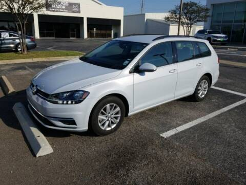 2019 Volkswagen Golf SportWagen for sale at Douglass Automotive Group in Central Texas TX