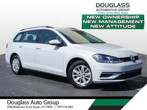 2019 Volkswagen Golf SportWagen for sale at Douglass Automotive Group in Central Texas TX