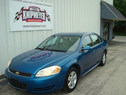 2010 Chevrolet Impala for sale in Beardstown, IL