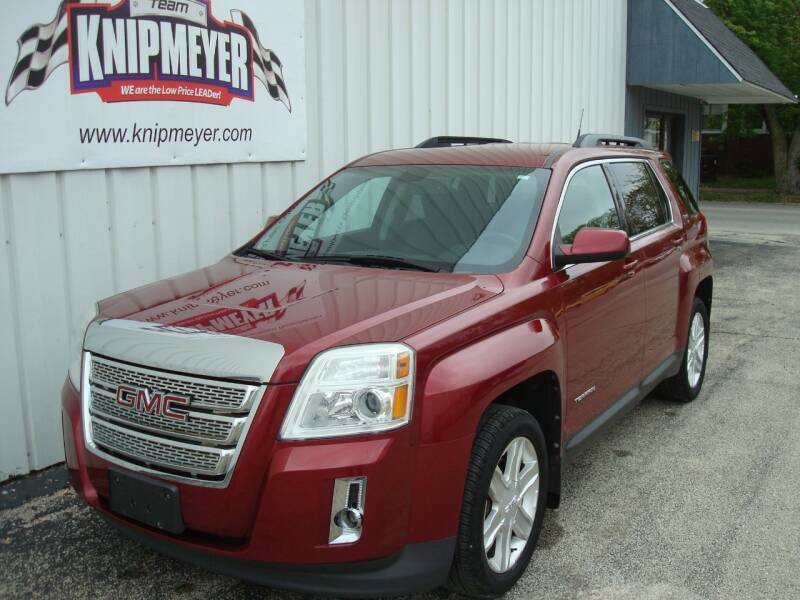 2011 GMC Terrain for sale at Team Knipmeyer in Beardstown IL