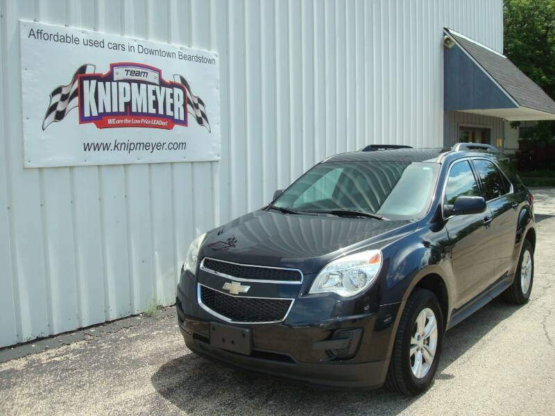 2013 Chevrolet Equinox for sale at Team Knipmeyer in Beardstown IL