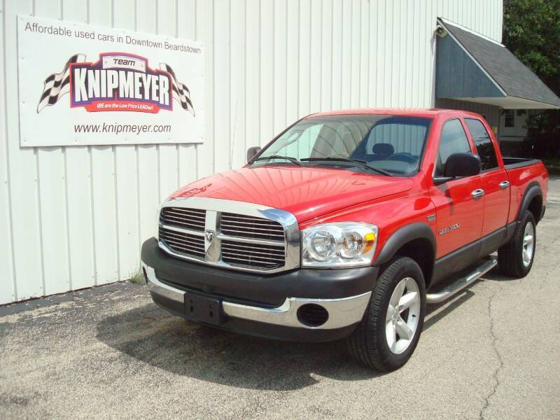 2007 Dodge Ram Pickup 1500 for sale at Team Knipmeyer in Beardstown IL