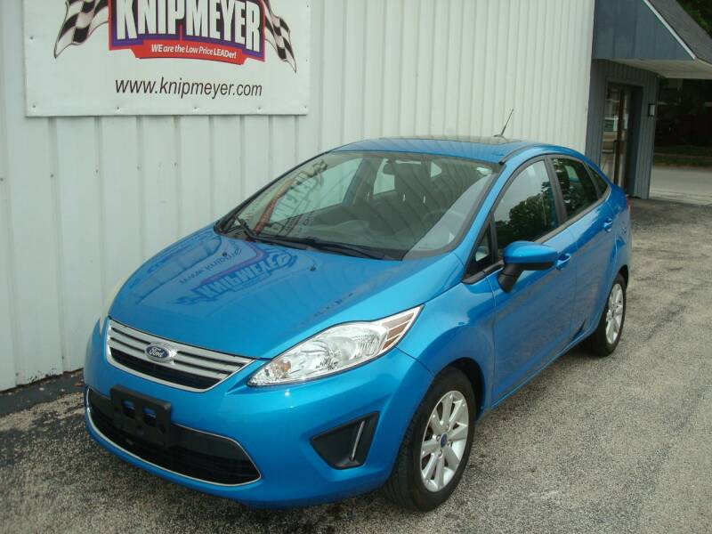 2012 Ford Fiesta for sale at Team Knipmeyer in Beardstown IL