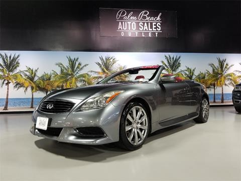 2010 Infiniti G37 Convertible for sale in West Palm Beach, FL