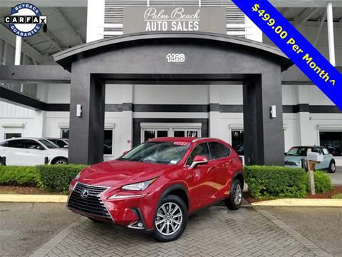 2018 Lexus NX 300 for sale in West Palm Beach, FL