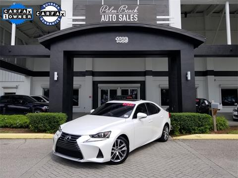 2019 Lexus IS 300 for sale in West Palm Beach, FL