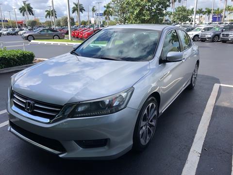 2014 Honda Accord for sale in West Palm Beach, FL