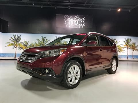 2013 Honda CR-V for sale in West Palm Beach, FL