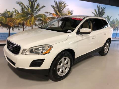 2012 Volvo XC60 3.2 for sale at PALM BEACH AUTO SALES OUTLET in West Palm Beach FL